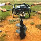 JX-WK汽油手推式植树打洞机 多功能手提挖坑机