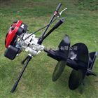 JX-WK大型推式植树打洞机 手提式轻便挖坑机