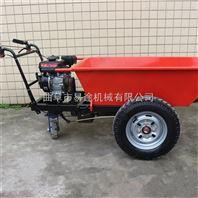 烧汽油的单轮车 带斗的汽油动力两轮车