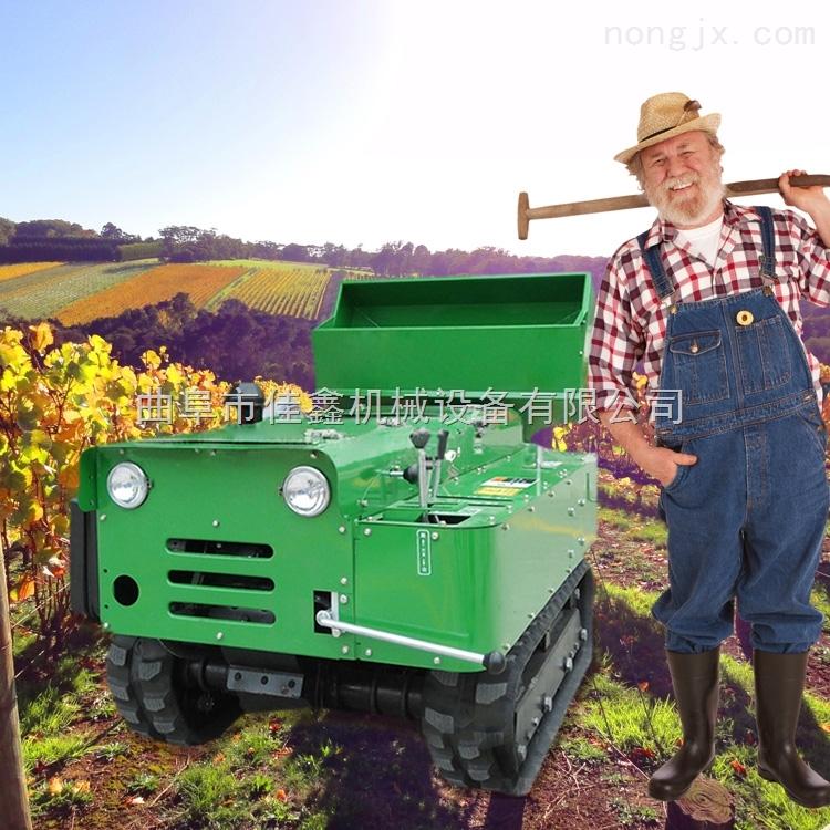 果园大棚旋耕机 自走式多功能开沟施肥机