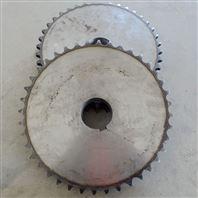供应双排链轮齿轮 不锈钢链轮 机械传动链轮