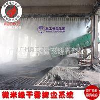 钢铁厂卸船机人造雾设备超微干雾抑尘系统