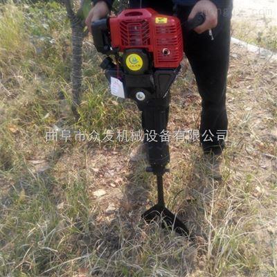 汽油二冲程起树机 汽油手提式挖树机价格图片