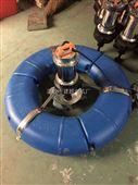 单相220V养鱼池鱼塘叶轮河塘曝气式增氧机