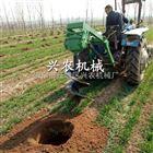 xnxj-30手提便携式植树挖坑机自走式打坑机图片