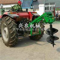 四轮带植树挖坑机 挖树坑机 立式钻树窝机