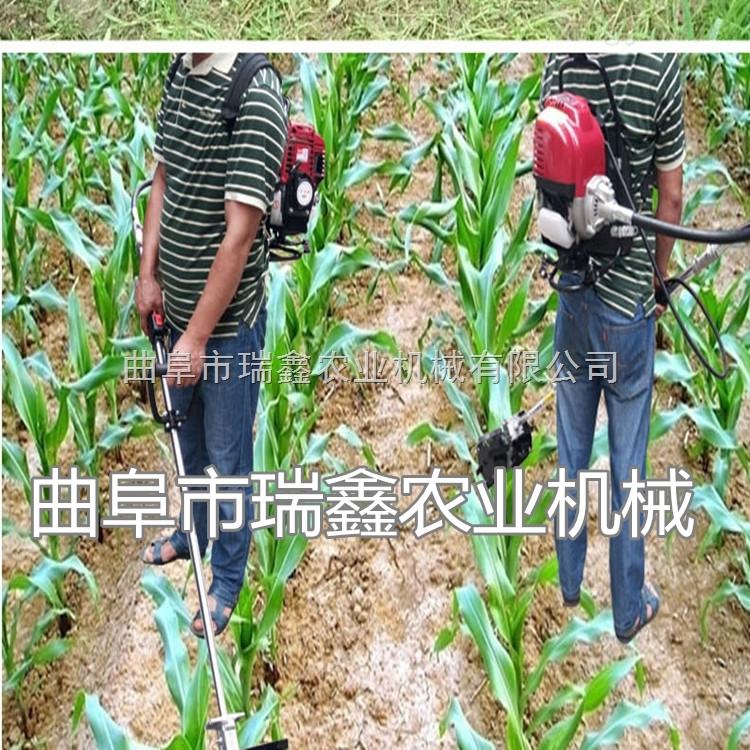 多功能小型稻麦放片机现货背负式玉米收割机