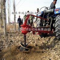 手提式挖坑机 低油耗土地旋坑机
