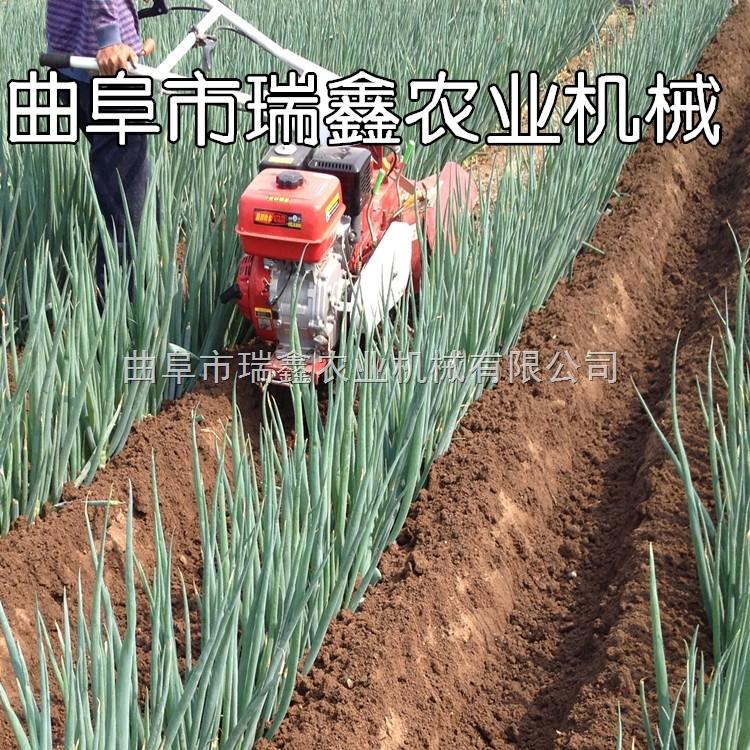 小型葱姜专用开沟培土机