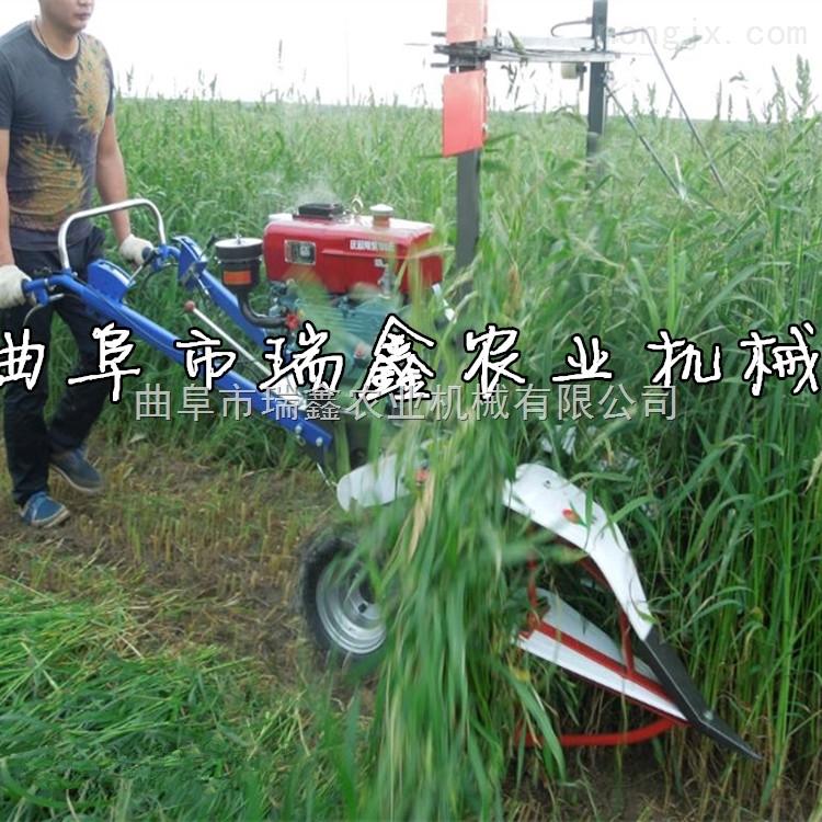 河南艾草收割机价格 多用途麦稻割晒机
