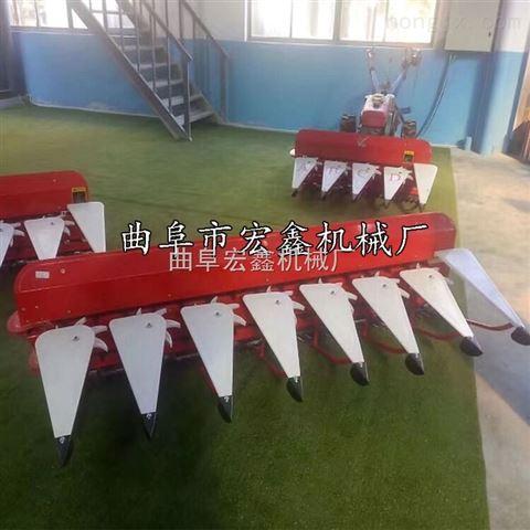 高低作物通用收割机 链条式割晒机厂家