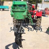 拖拉机带动钻坑机 园林绿化挖坑机