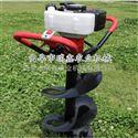 rxjx-wkj便携式螺旋打洞机视频 多功能立柱挖坑机