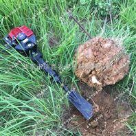 手提断根起树机 便携式带土球挖树机