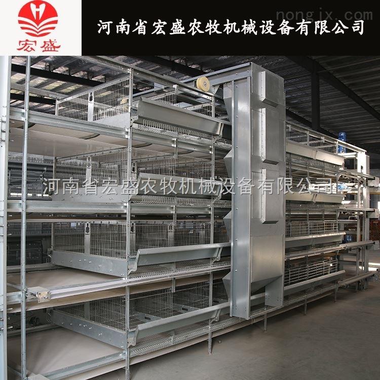 厂家直销层叠式蛋鸡笼 立式鸡笼自动化养鸡设备