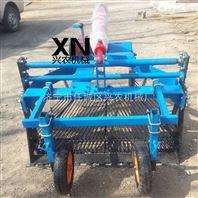 四轮带挖蒜机 供应河南大蒜收获机价格
