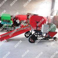 冬季草料打捆机 裹包机生产厂家 秸秆包膜机