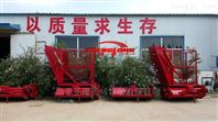 拖拉机带动秸秆切碎回收机生产厂家直销
