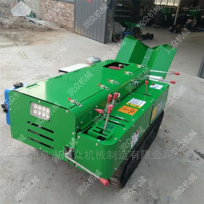 柴油大马力履带式开沟机 苹果园开沟施肥机