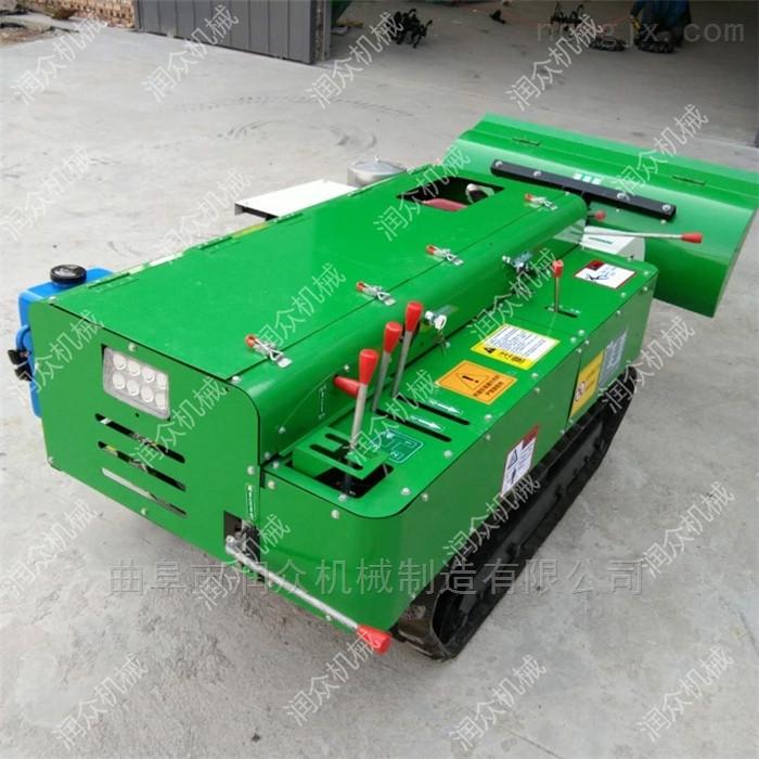 自走式柴油履带开沟机 果园自动回填埋土机