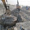 怀化石灰石开采静态爆破硬岩石机械撑石机