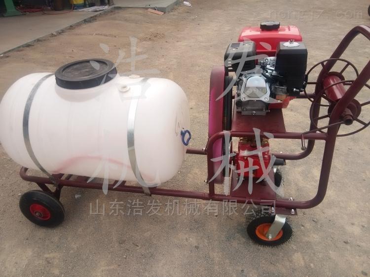 四轮带动喷雾器 推车式喷药机 三轮车打药机