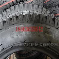 4.50-14农用车三轮车水曲羊角花纹轮胎