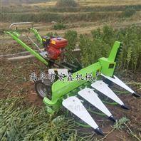 云南茴香专用割晒机 四轮带动艾草收割机
