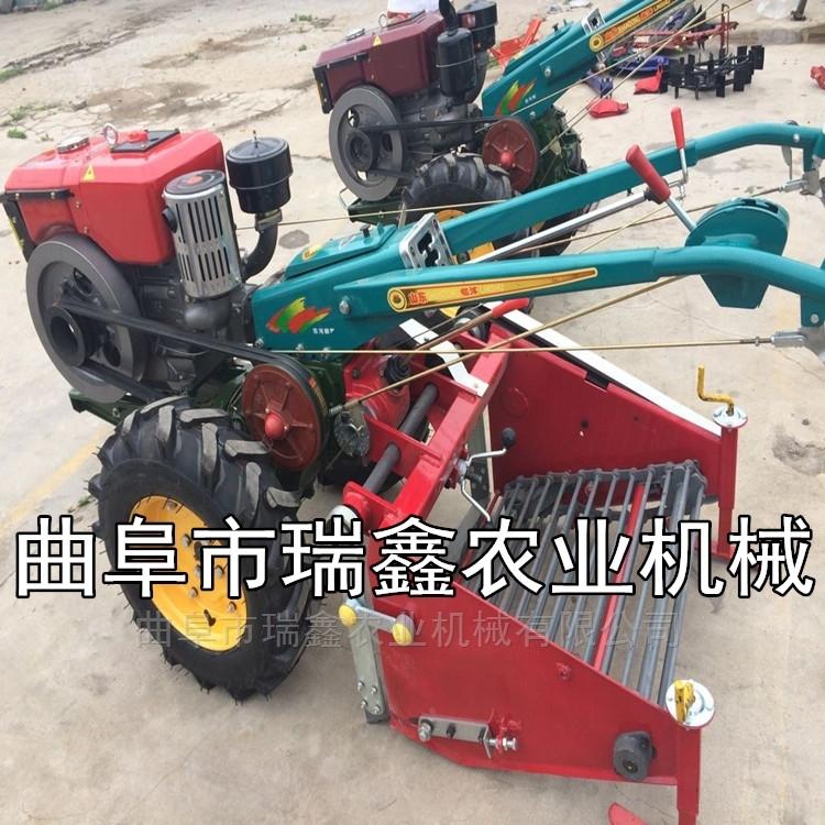 新型手扶带土豆收割机 四轮红薯收获设备
