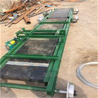银川饮料装车带式输送机 加厚PVC食品运输机
