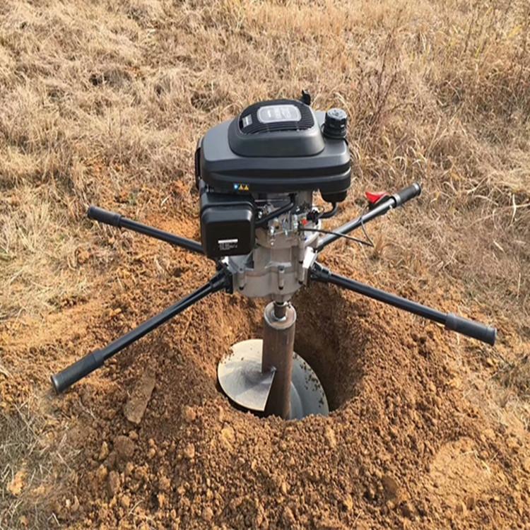 拖拉機挖坑機鑽孔機 小型植樹機打孔機