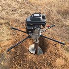 四冲单人手提式挖坑机 植树钻坑机 打桩机