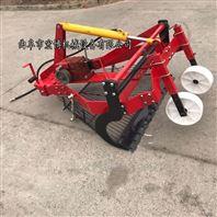 四轮拖拉机前置大蒜收割机