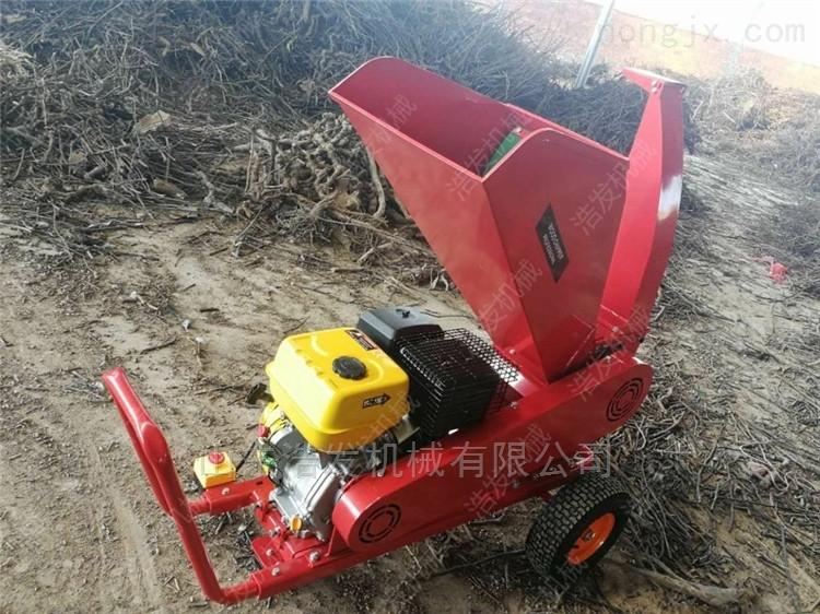 售后无忧塑料粉碎机 带轮移动式树枝破碎机