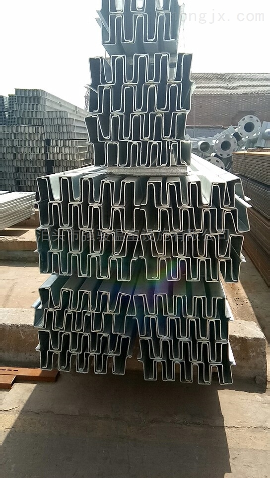 镀锌几字钢钢骨架温室大棚