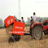 四轮牵引式捡拾玉米秸秆打捆机现货