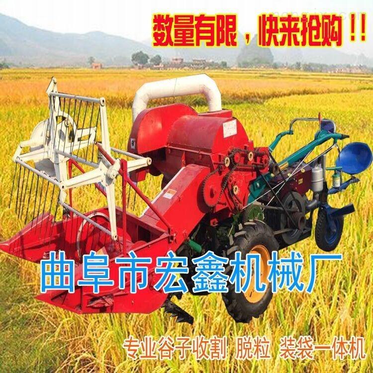 农业联合收割机柴油收获脱粒机生产厂家