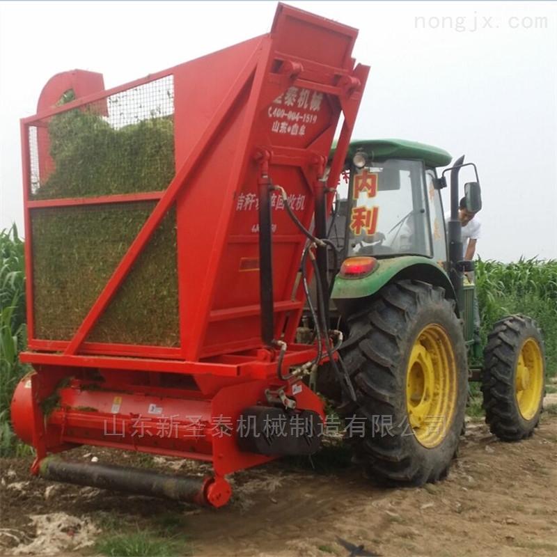 节省劳动力青贮秸秆收获机 玉米秸秆回收机