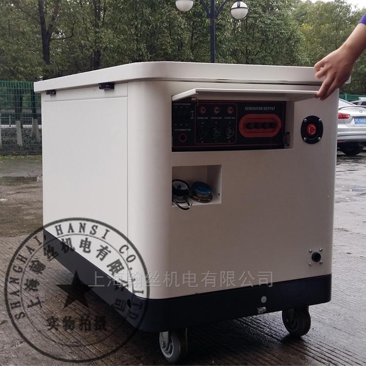 供应HANSI翰丝HS20REG-三相电20KW天然气发电机