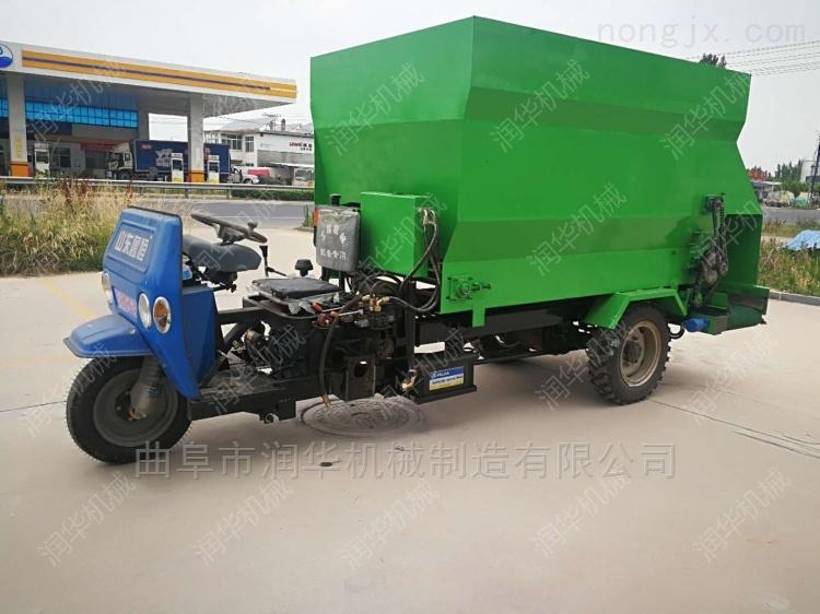 育肥牛喂料投料机 经济耐用的撒料车厂家