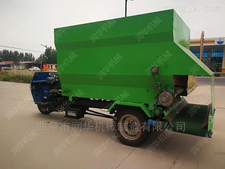 优质耐用牧场喂料车 厂家直销定做撒料车