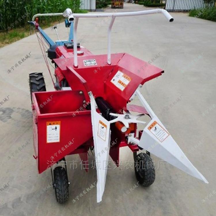 秸秆粉碎还田机柴油动力玉米联合收割机现货