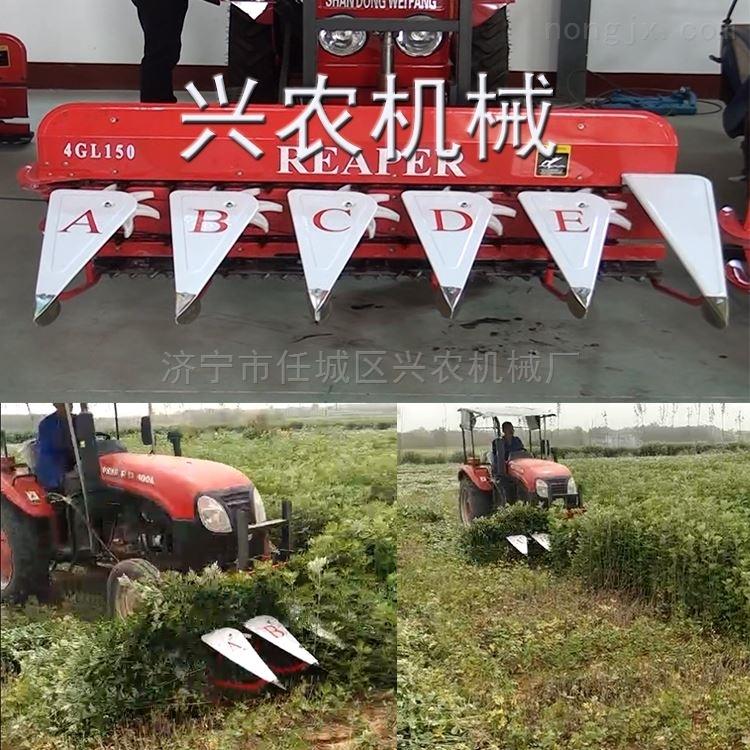 农用稻麦割捆机 登封大豆收割机