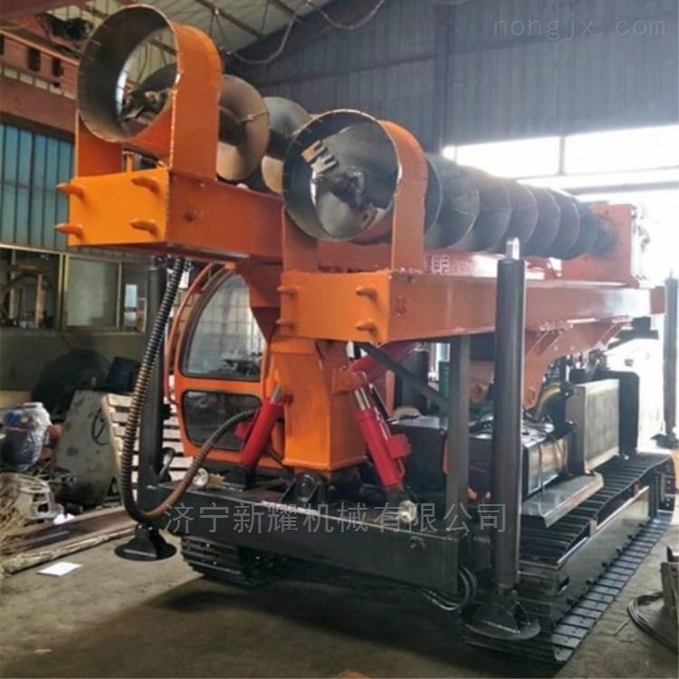厂家直销新型光伏打桩机xy-4102