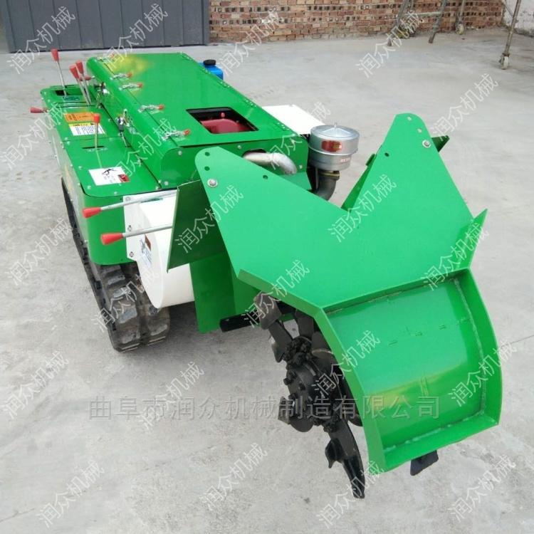 果園自走式施肥機 苗圃專用履帶旋耕開溝機