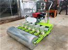 汽油机多行蔬菜播种机 手推上海青精播机