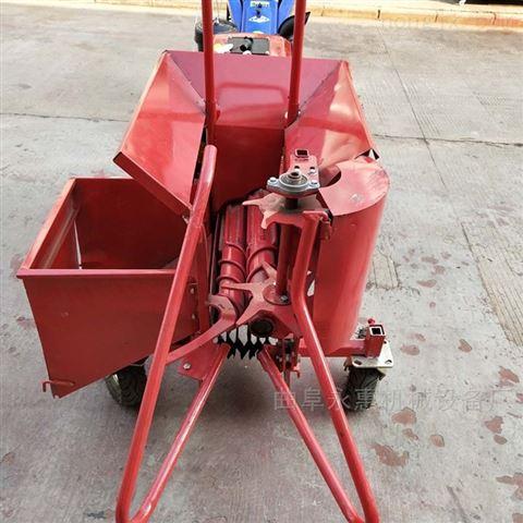 柴油单行玉米收获机价格 手扶带苞米收割机