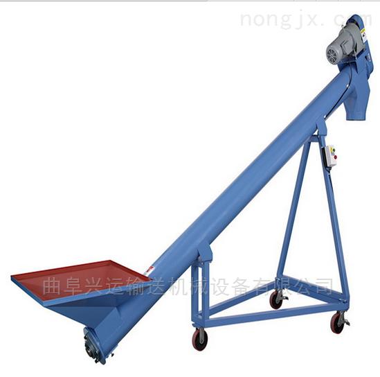 油渣豆渣用管式上料机 升降型螺旋提升机Lj1