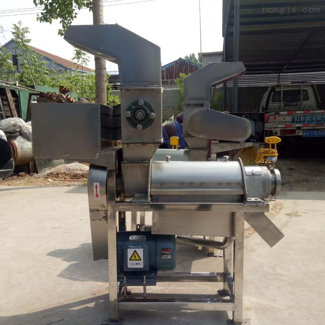 小型饮料厂专用水果榨汁机 桔子苹果打浆机