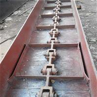 粉料用爬坡刮板机  上盖可拆埋刮板送料机